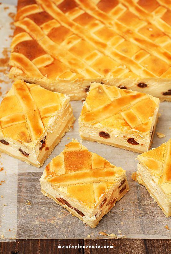 Polish cheesecake / sernik krakowski z kratką