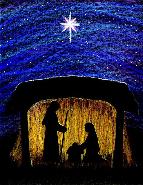 Sacred Art Images for Advent   Nativity art   Stushie Art