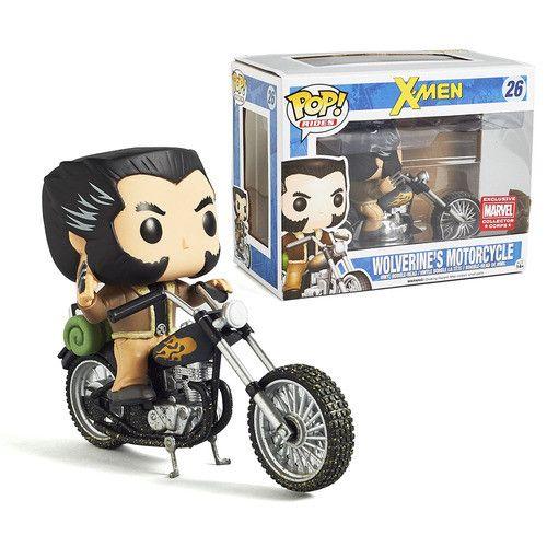 Funko Pop Rides Wolverine's Motorcycle