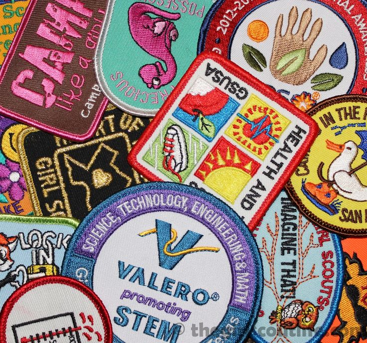 The Girl Scout Life: Council's Own Patches - Entire list of Council with their own patches (with links!).