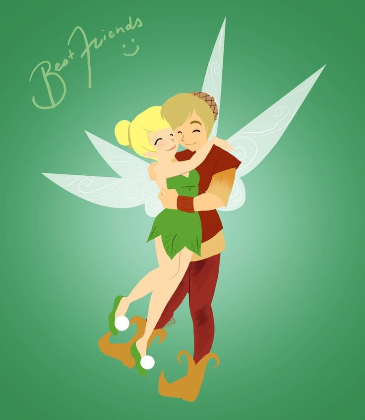 Tinkerbell and Terence I was reminded by a friend that Valentine's Day isn't just about showing love to your significant other/crush/whatever. Single or not, it's a day for showing anyone that you ...