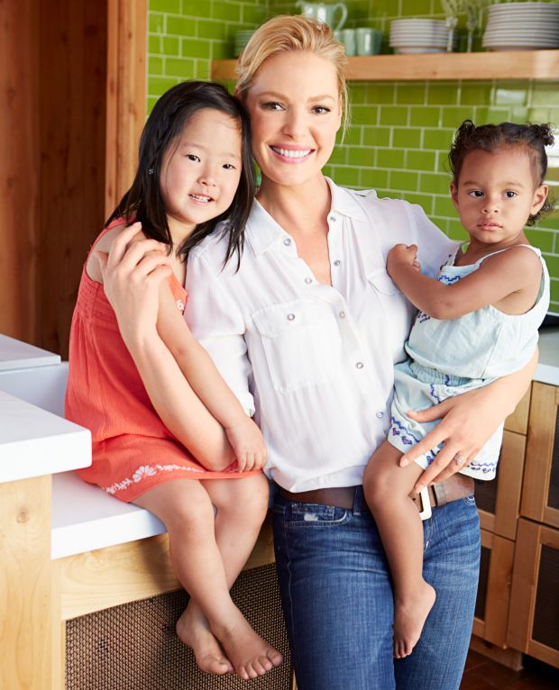 At Home With Katherine Heigl