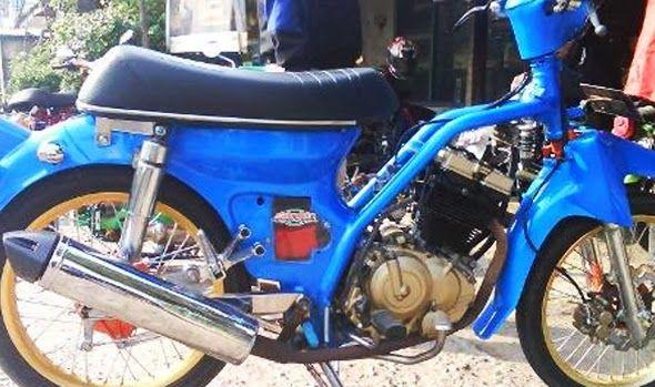 Foto Modifikasi Motor Honda 70 Ceper Antik Terbaru