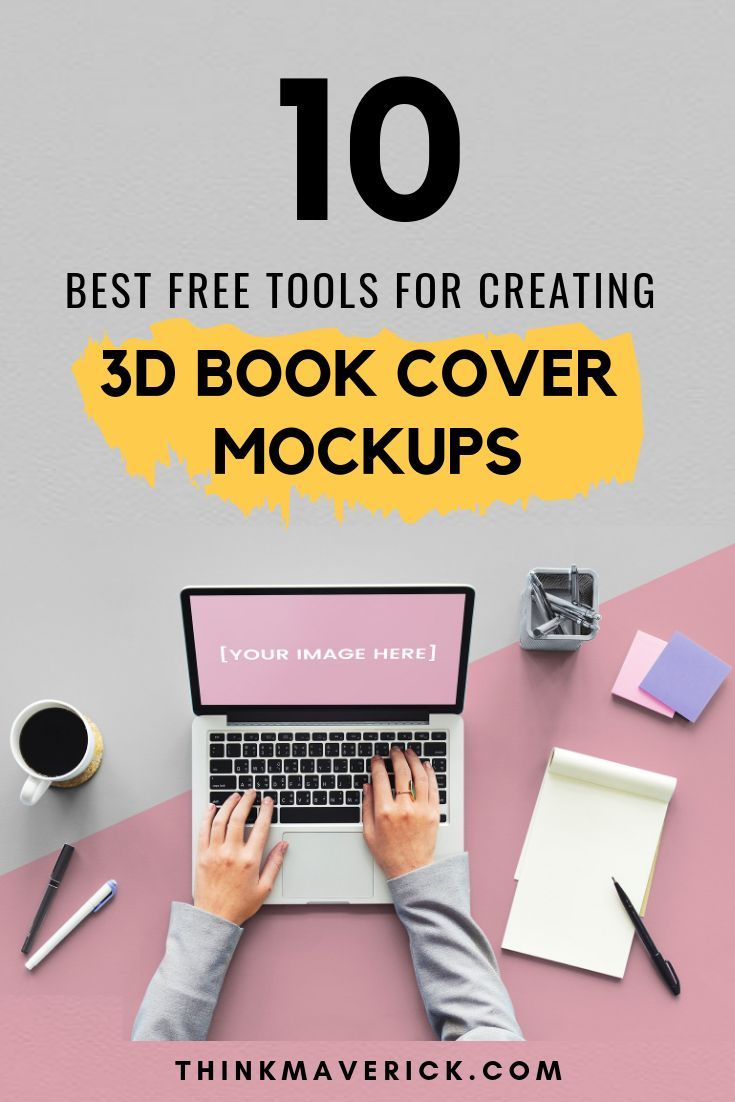 12 Best Free Tools For Making A 3d Book Cover Online Book Cover Mockup Book Cover Ebook Cover