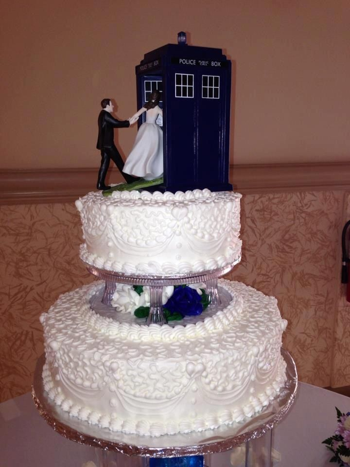 Our Suggestions Picture for Tardis Wedding Cake