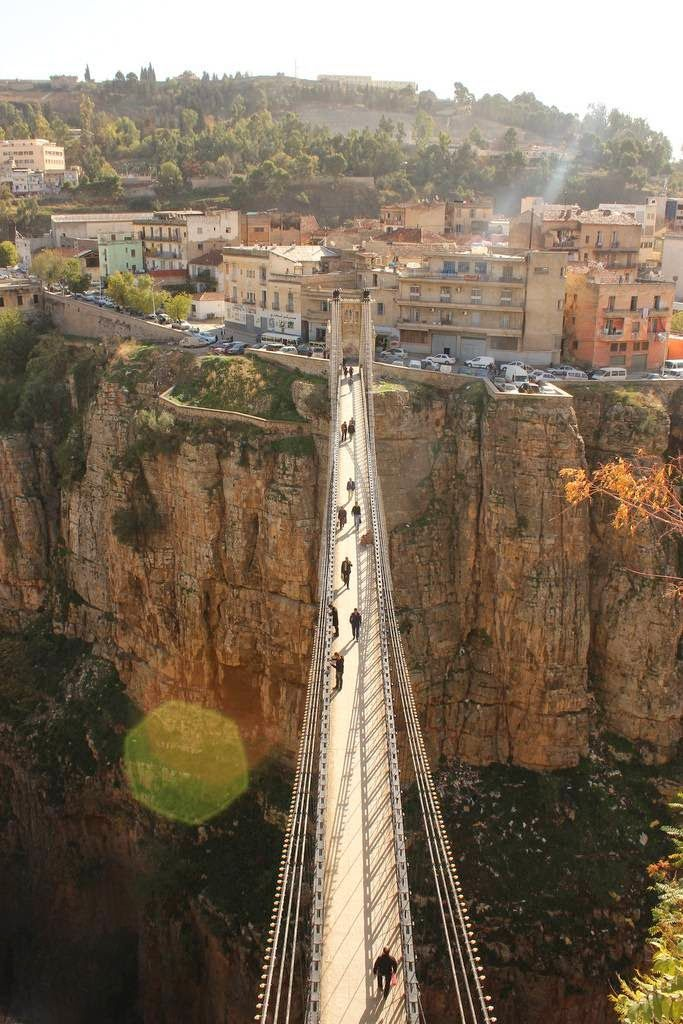 "Constantine, Algeria is known as ""The City of Bridges"""