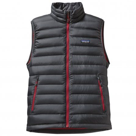 NEW FOR 2015!  Patagonia Down Sweater Vest (Men's) - Forge Grey/Feather Grey