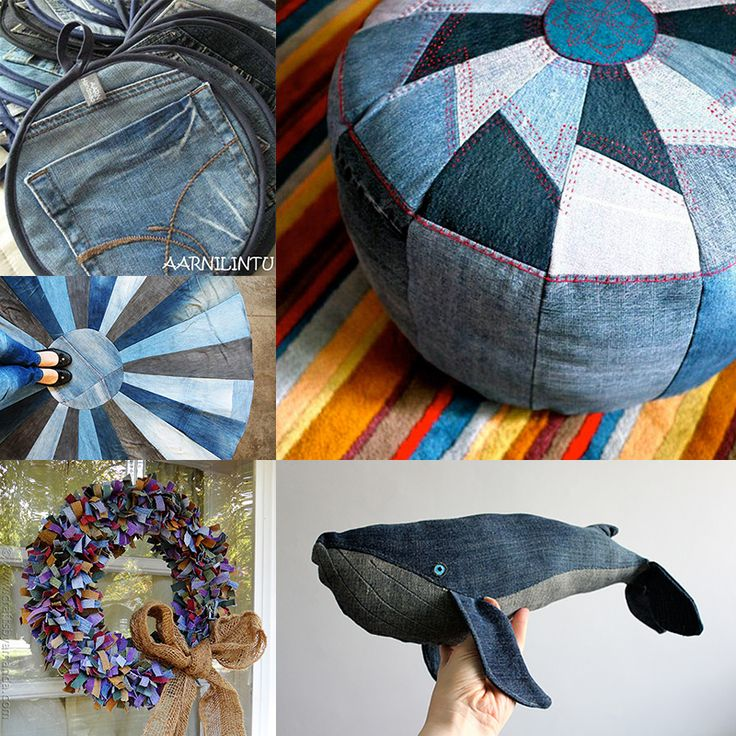 Need to get rid of some old jeans? These denim upcycle ideas might be just what you're looking for!
