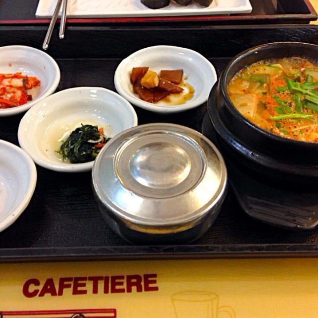 レシピとお料理がひらめくSnapDish - 6件のもぐもぐ - 된장 찌개 テンジャンチゲ(味噌チゲ) by 노도카^__^
