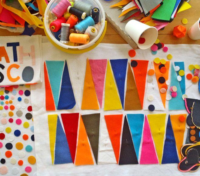 Rachel Castle: Colour, Colors Combos, Art Crafts, Poetic Sweet, Crafty, Vibrant Colors, Rachel Castles, Art Projects, Textile