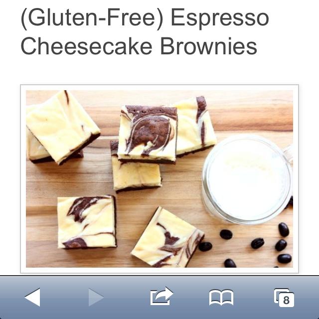 ... Pinterest | Gluten Free Cheesecake, Brownies and Cheesecake Brownies