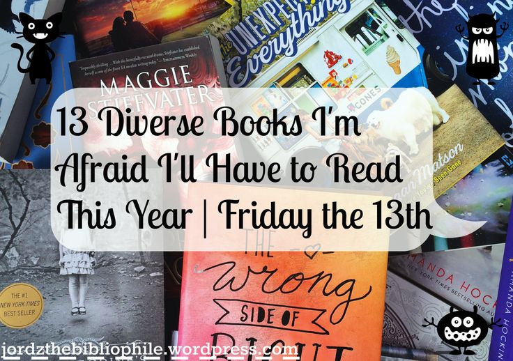 Haha, afraid. Because, you know… Happy Friday the 13th! Friday the 13th has always seemed like a mini-Halloween to me. I mean, sure, you don't dress up and go trick-or-treating, but it …