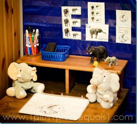 Letter E...Elephant Week in Tot School