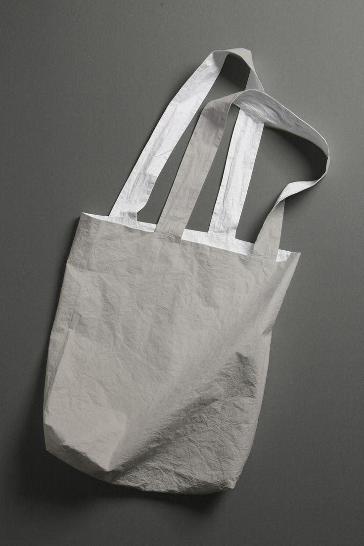 tote bag - grey by maybebags