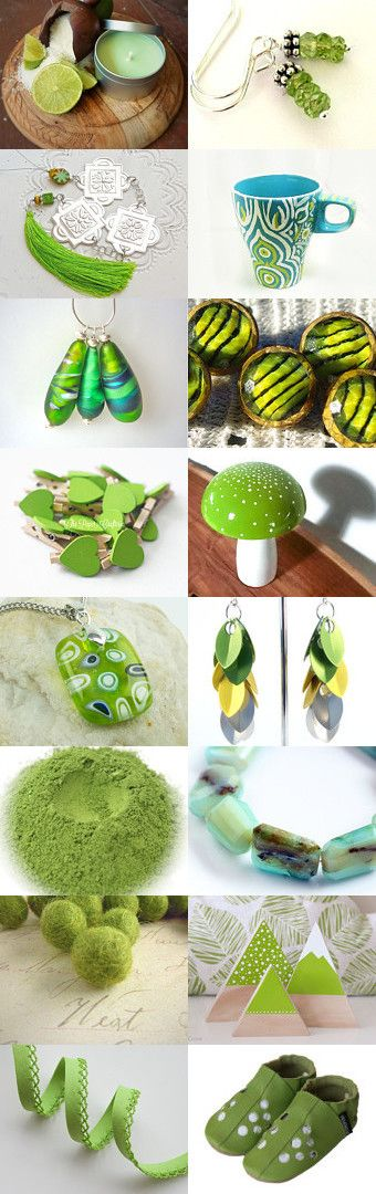 Limelight by Lindy Whitton on Etsy--Pinned+with+TreasuryPin.com