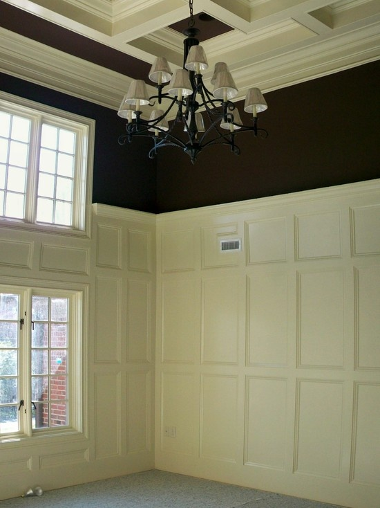 93 Best Wainscoting Trim Coffered Ceilings Railing And