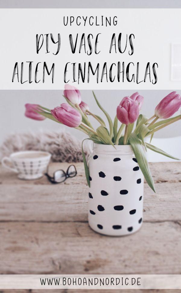 Diy Upcycling Vase Selber Machen Einfach Und Schnell Kreative