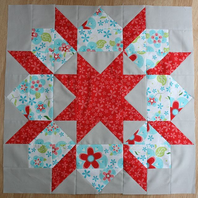 Swoon Quilt Block #4 by Punkin Handmades