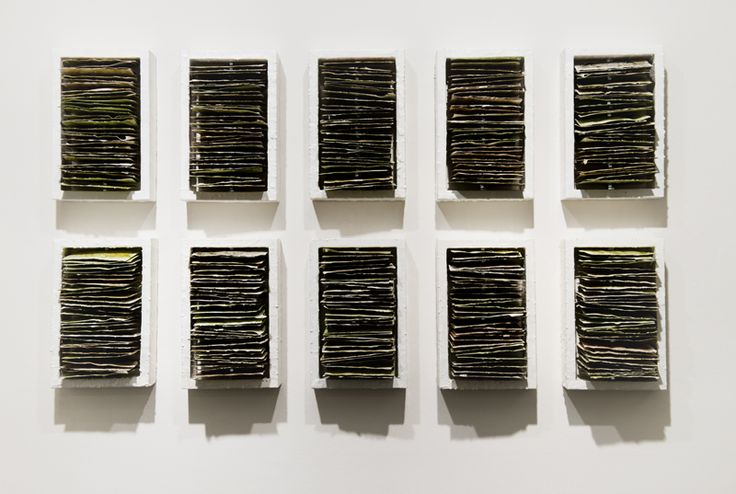 ROSE RIGLEY Exhibition - Intension to Exit; Work - Spinal Tap I-X 2012