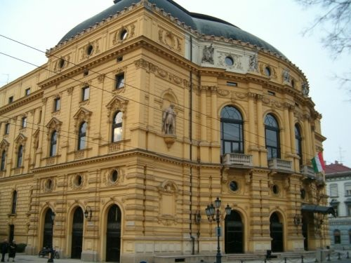 The National Theatre of Szeged