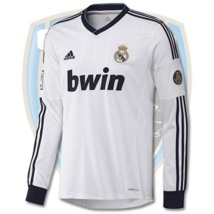 adidas Real Madrid Long Home 2012-13 $95 (Select XI pay 85.50 & EARN