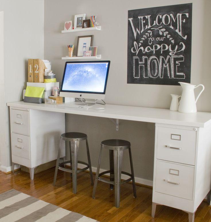 Best 25 File Cabinet Desk Ideas Only On Pinterest
