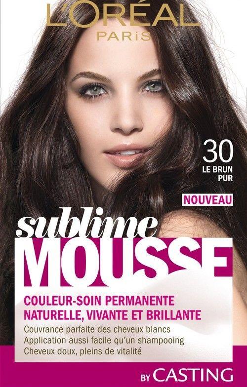 Sublime Mousse de L'Oréal, la couleur naturelle   http://www.monblogdefille.com/blog/sublime-mousse-de-loreal-la-couleur-naturelle