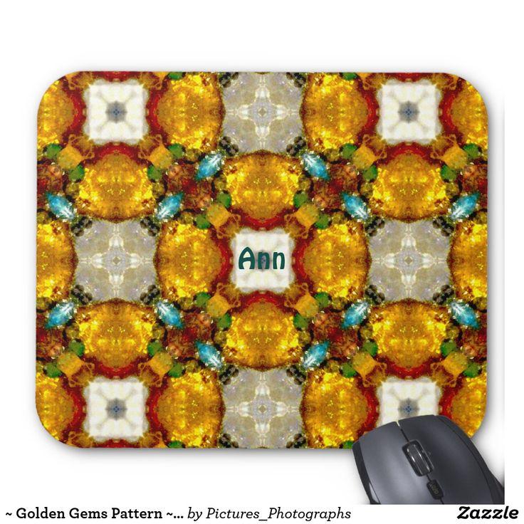 ~ Golden Gems Pattern ~ Personalised ANN ~