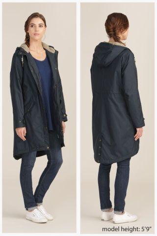 Plant Hunter Coat | Long quilted raincoat | Seasalt