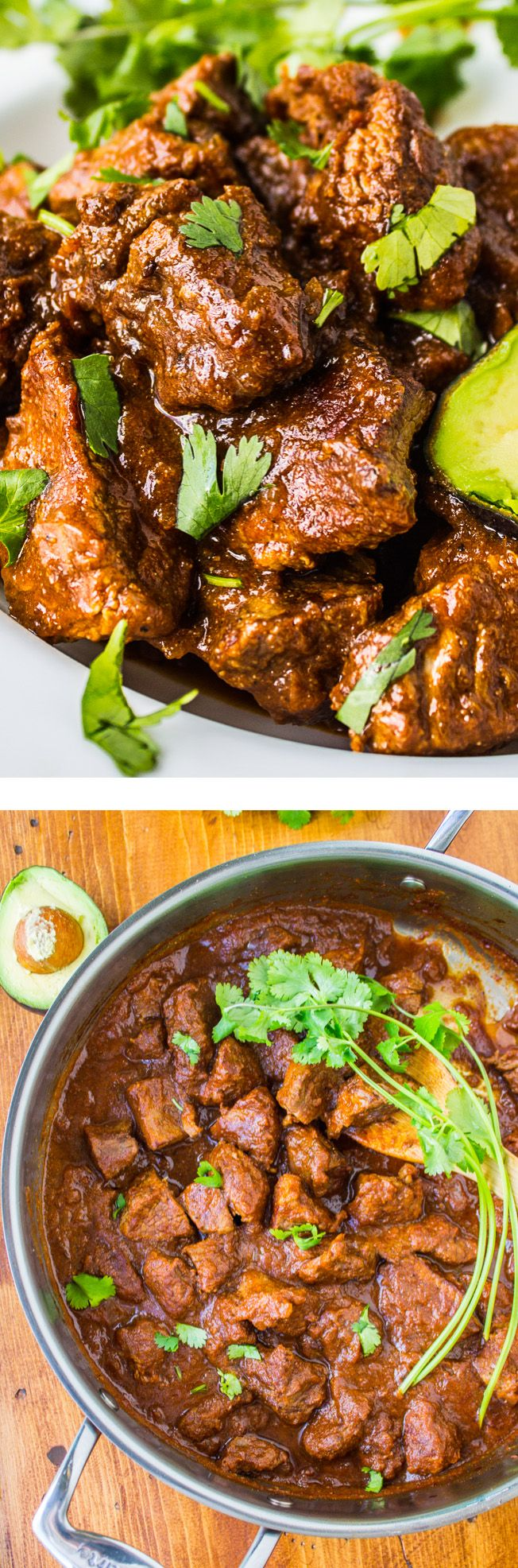 Traditional Tejano Carne Guisada (Braised Beef for Tacos) from The Food Charlatan // This recipe is SO easy, with ingredients you probably have on hand. The best taco meat ever.