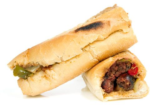 FOOD: Halal sandwich shop - Queens,NY ...cheesesteak or kufta??