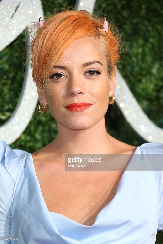 Lily Allen attends the British Fashion Awards at London Coliseum on December 1, 2014 in London, England.