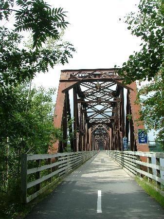 Bridge Across the St. John's River, Fredericton, New Brunswick, Canada... My favourite bridge :)!
