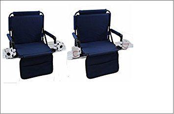 cushioned stadium seats with backs