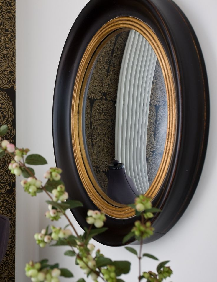 The cool and quirky Fish Eye Convex Mirror at Rose & Grey, Mirrors and prints