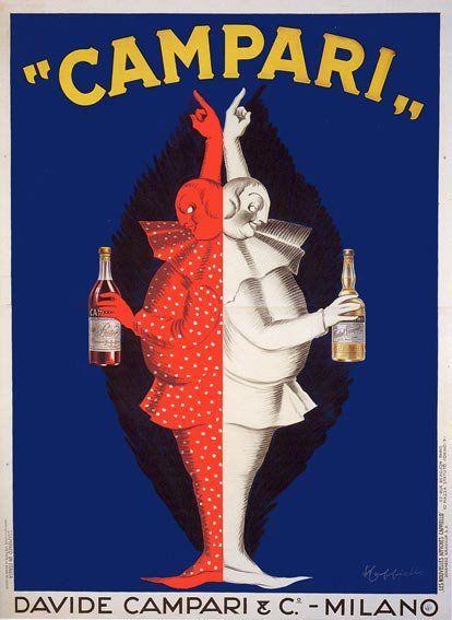 """""""Campari"""" Italian Advertising Poster by Leonetto Cappiello"""