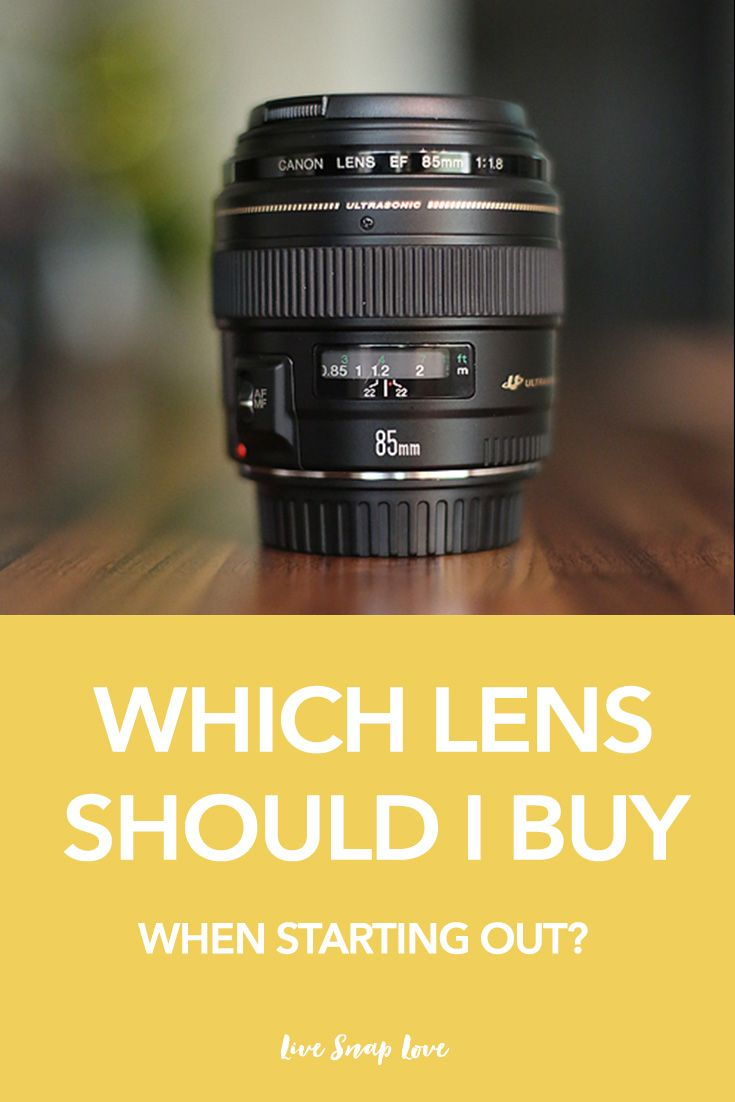 Not sure which lens you should buy first after the kit lens that came with your…
