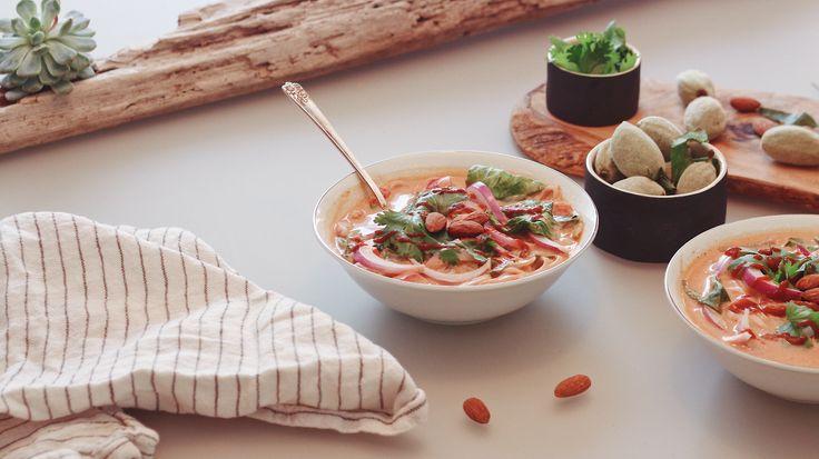 Thaï curry soup (gluten free)