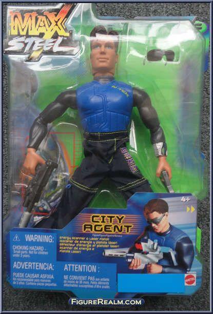 max steel toys 2000
