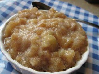 Maple Cinnamon Applesauce: Cinnamon Applesauce Yummy, Maple Cinnamon ...