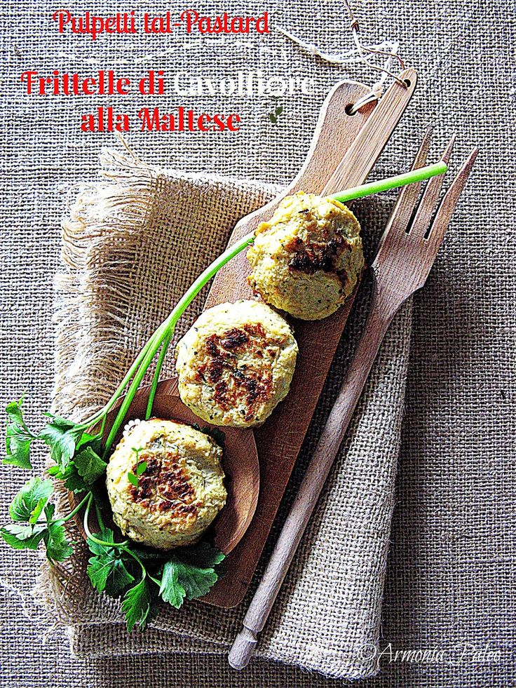 Armonia Paleo: Pulpetti tal-Pastard - Frittelle di Cavolfiore all...