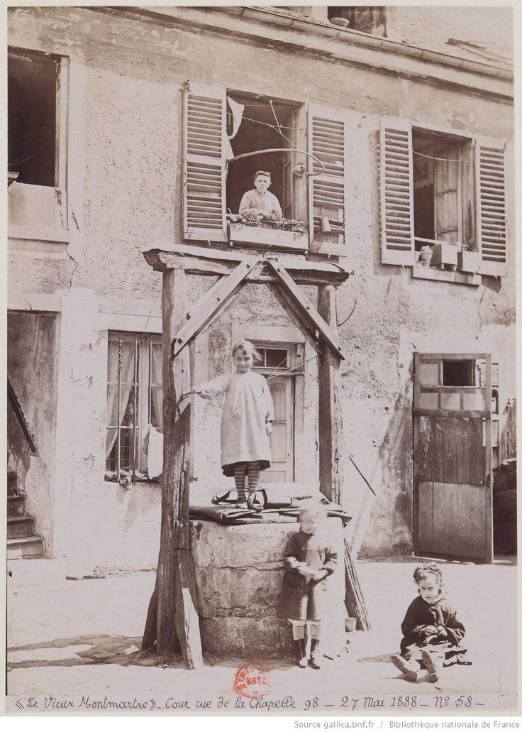 Cour, rue de la Chapelle 98 (MFILM G-119130);