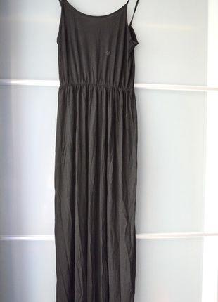 Kup mój przedmiot na #vintedpl http://www.vinted.pl/damska-odziez/dlugie-sukienki/13840207-sukienka-maxi-hm-czarna-dluga-nowa-na-ramiaczkach