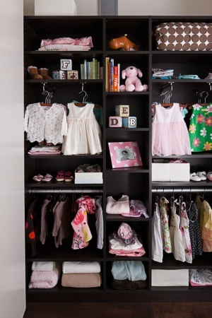 california closets-- I LOVE THIS CLOSET FOR A NEW BABY GIRL!!! ITS TO DIE FOR