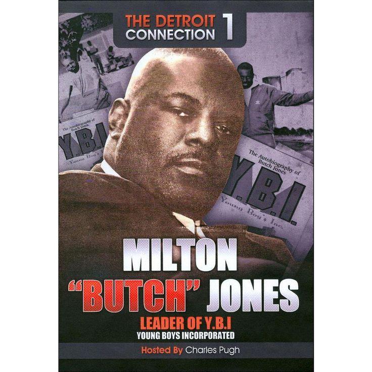 Milton 'Butch' Jones: The Detroit Connection 1 (dvd_video)