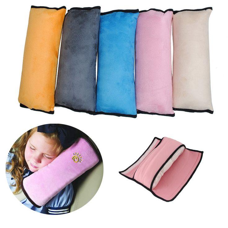 Yeni Bebek Oto Oto Emniyet Kemeri emniyet Kemeri Omuz Pad Kapak Çocuk Koruma Yastık Destek Yastık araba styling Kapakları