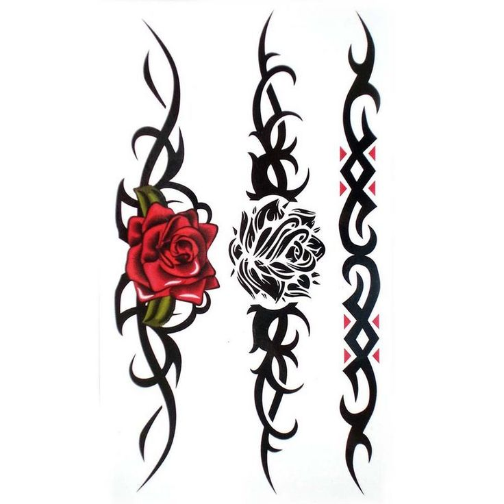 Rose and tribal tattoo designs | Tattoo Collection – ClipArt Best – ClipArt Best