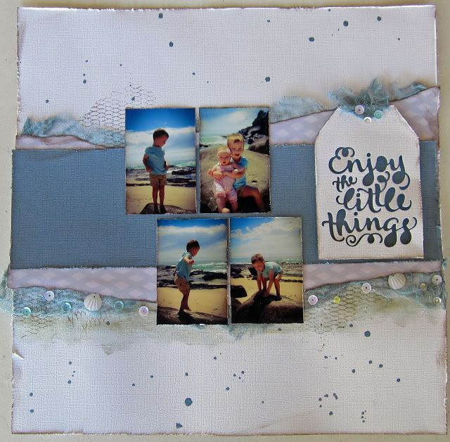 kerrie gurney : Three Quick Layouts - Couture Creations | Ultimate Crafts