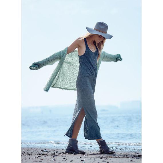 schönes Jerseykleid in attraktiver Melangeoptik