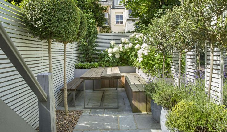 As is the case with many Victorian terrace houses in south-west London where the property is divided into maisonettes, this Fulham courtyard covers only half of the allotted garden space, making it super skinny. After trying without success to turn it into a sleek outdoor room for entertaining, the owner called in garden design supremo Tony Woods to perform the near impossible.